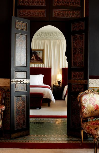 Hotel chic design inspiration from la mamounia for Hotel design marrakech
