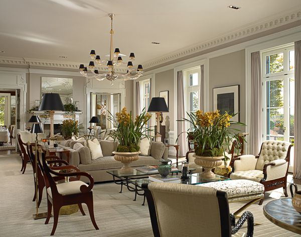 Hotel chic design lessons from glenmere mansion for Dining room northampton