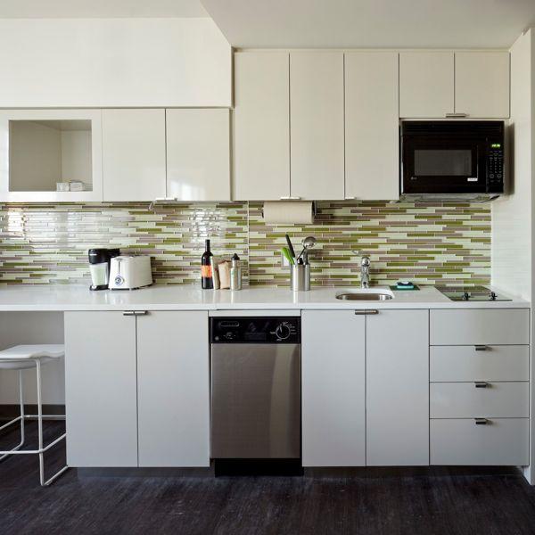 kitchen backsplash glass tile green the green glass tile