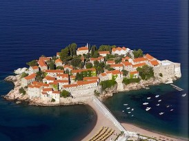 Virtual Vacation at Aman Sveti Stefan in Montenegro
