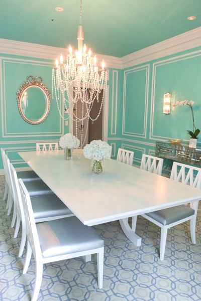 Hotel Chic Jewelbox In The Sky The Tiffany Suite At The