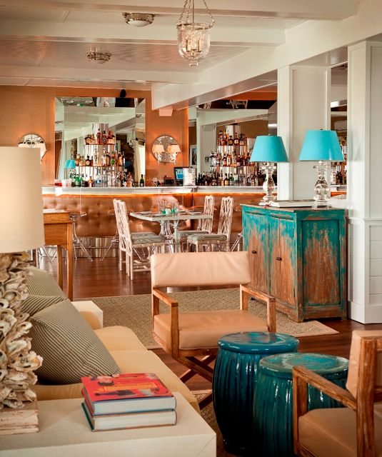 Hotel Chic Groovy Style At The Tides Beach Club In Maine