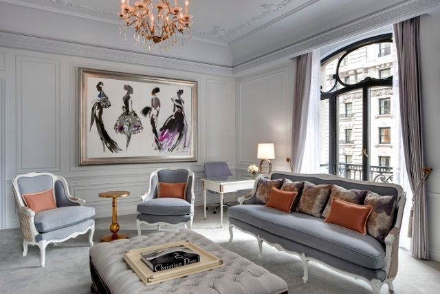 Hotel Chic French Glamour In NYC The Dior Suite At