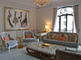 French Glamour in NYC: The Dior Suite at the St. Regis