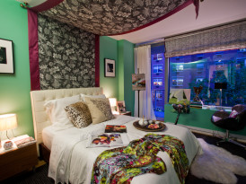 Katie Leede's fabulous bedroom for the Elle Decor Concept House
