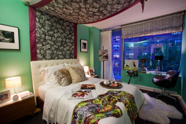 Hotel chic katie leede bedroom for elle decor modern for Hotel elle decor