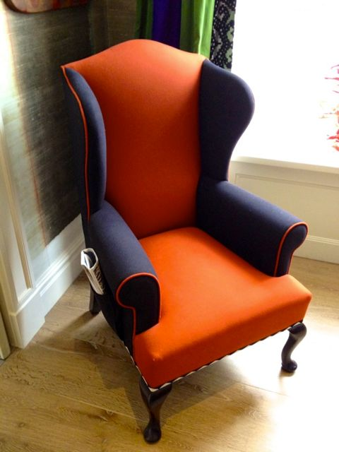 Wing Chair at the Dorset Hotel