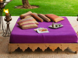 Chic Daybeds from Dar Nanka in Marrakech