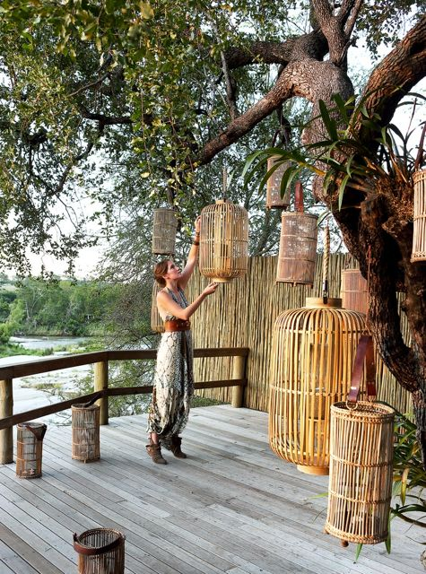 Londolozi deck via Hotel Chic