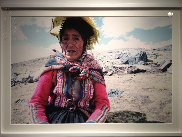 Helena Christensen Peru Via Hotel Chic