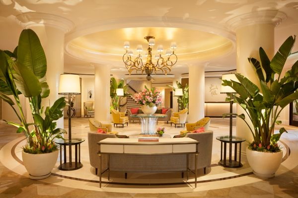 The Lobby of The Beverly Hills Hotel  ORDER
