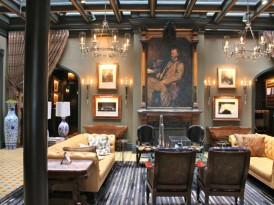 Inside The Jerome Hotel in Aspen