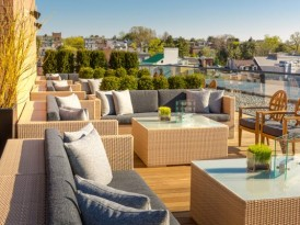 Sneak Peek: The Amazing Guest-only Rooftop at the Capella DC