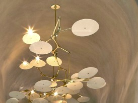 Lindsey Adelman's Incredible Branch Lights At NYC's Peninsula Hotel
