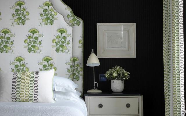 hotel chic katie ridder seaweed fabric