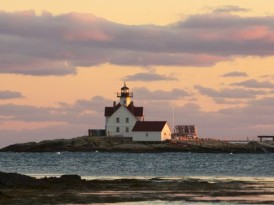 A New Lighthouse Inn in Maine