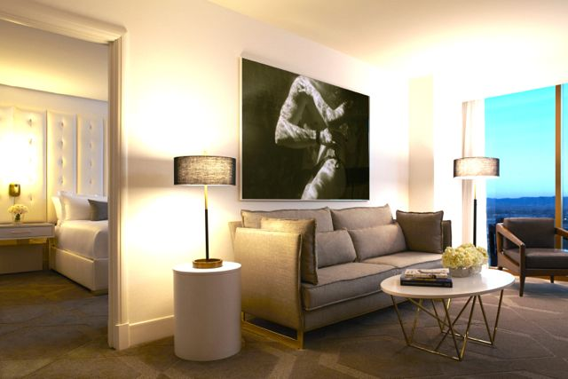 Delano Las Vegas - Suite Living Area