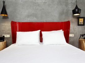 Red, Black & Gray at the SuB Karakoy Hotel in Istanbul