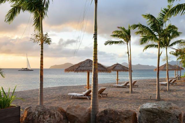 Paradise Beach Nevis via Hotel Chic