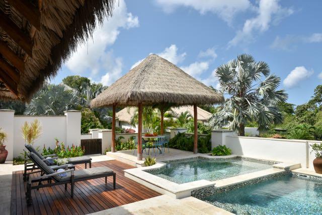 Photo of Paradise Beach Resort in Nevis, British West Indies.