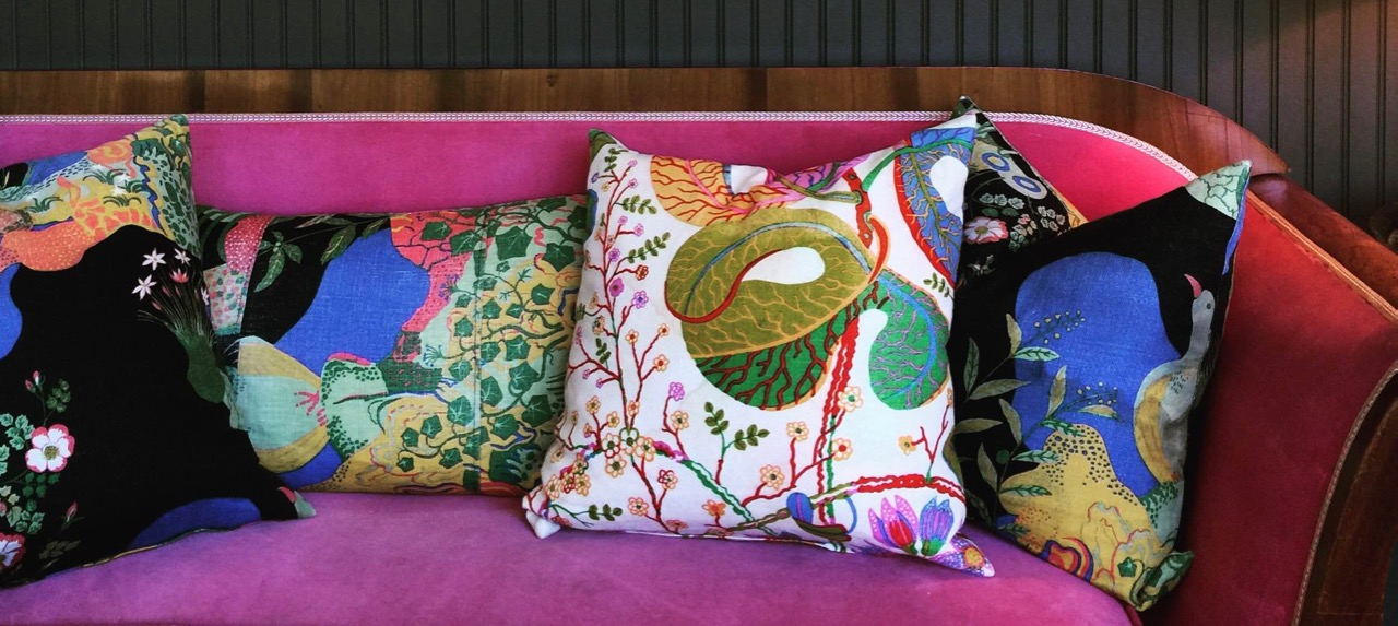 Josef Frank Fabrics at c/o The Maidstone