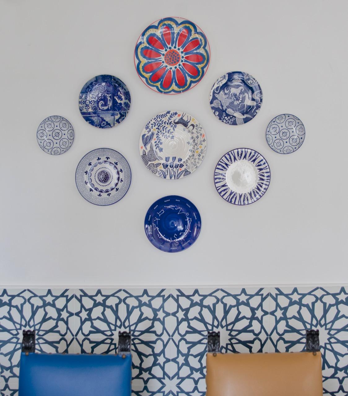 Декор тарелки на стену своими руками