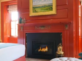 How to Pull Off A Red Bedroom: The Merchant