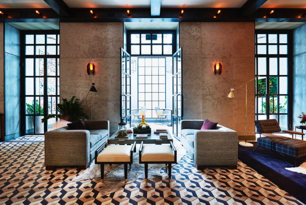 Photo Courtesy of SIXTY SoHo via Hotel Chic