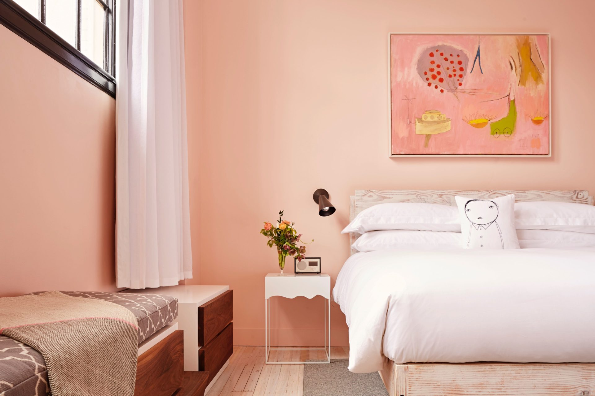 A Cooler Take on Pink at The Quirk Hotel