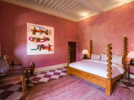 Pink & Green at El Fenn in Marrakech