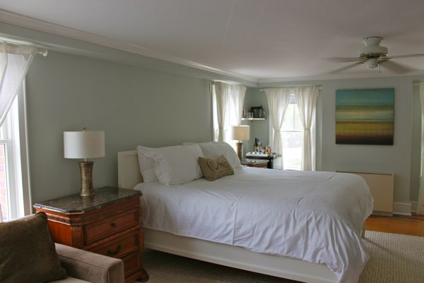 The Soothing Paint Color On Walls Is Healing Aloe By Benjamin Moore