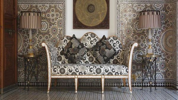 Exotic Glamour The Royal Mansour In Marrakech